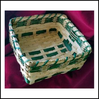 A-Napkin Basket Green