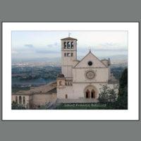 Assisi-010A  St. Francis Basilica