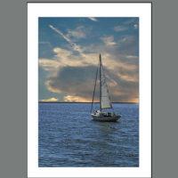 Life-003  Summer Sailboat ~ Adrift