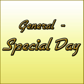 GENERAL ~ Special Day Cards