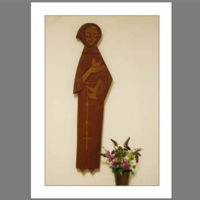 SMA-007  St Francis Carving