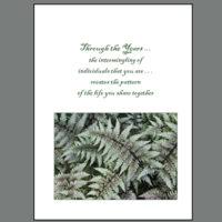 SPC-007 Anniversary Ferns