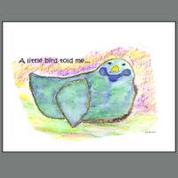 CRS-BD-BB  A LITTLE BIRD