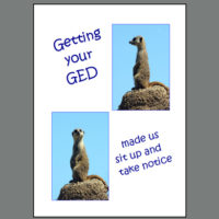 GRD- 044 GED Sit Up & Notice