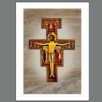 Assisi-007A  San Damiano Cross