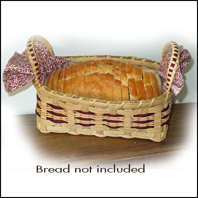 Basket with Bread (w)