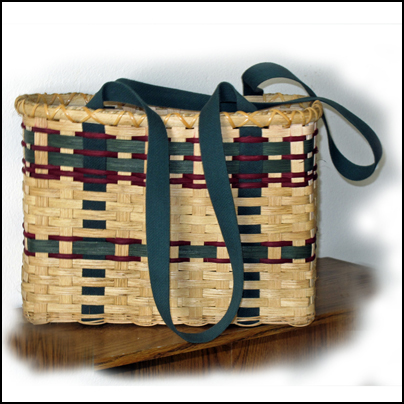 Shopping Basket with Carrying Straps