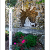 MH-00101  Peace Pole At Francis Grotto