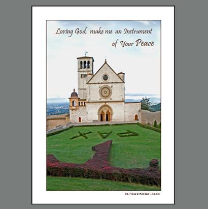 Assisi-024B  Peace ~ St Francis Bascilica