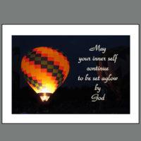 JUB-015  Set Aglow by God