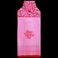 T-VAL-010  Happy Valentine on Pink