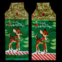 T-CHRS-102P Happy Holly Days Pair