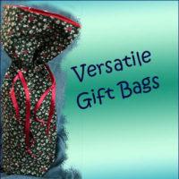 Versatile FABRIC GIFT BAGS
