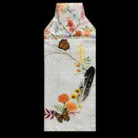 T-GN-007 Butterflies, Flowers & Feather