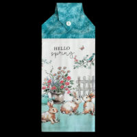 SPRG-056 Hello Spring with Flowers & Rabbits