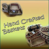 HANDCRAFTED REED BASKETS